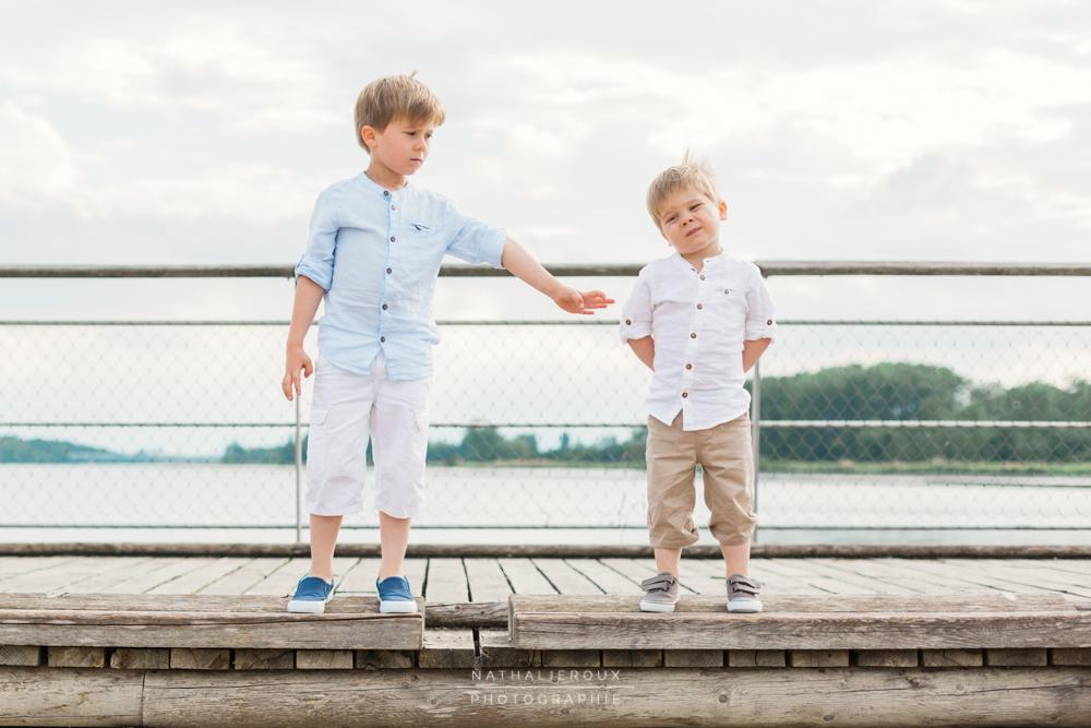 Photo en Famille au Lac de Miribel