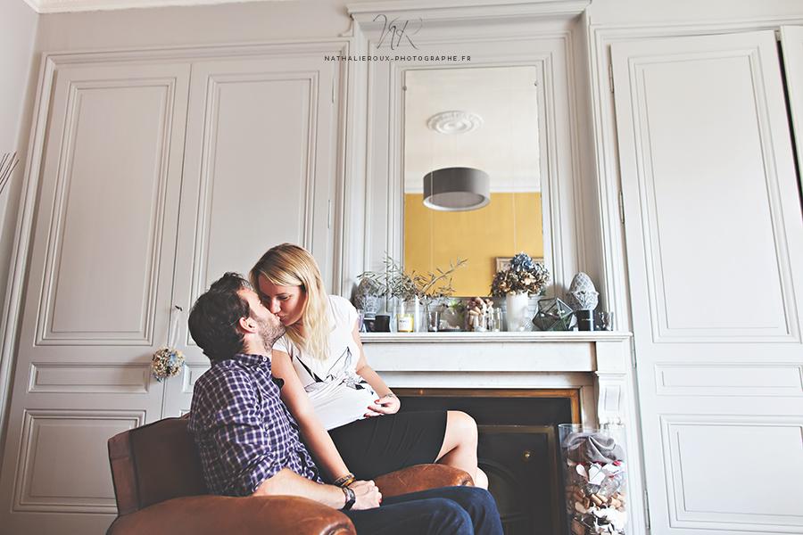 Nathalie Roux Photographe Grossesse Naissance Bébé Lyon