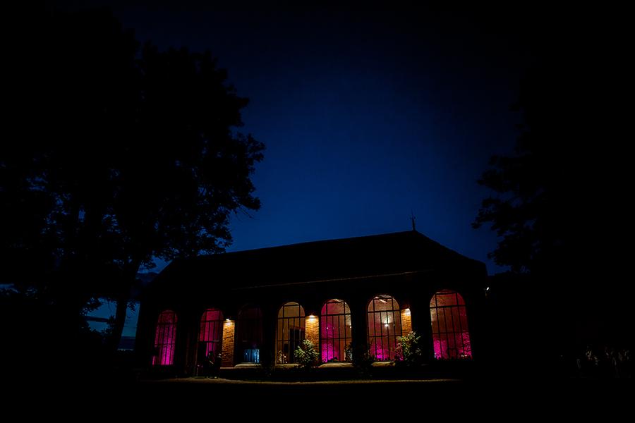 photo de soirée de mariage Château du Bourg Roanne