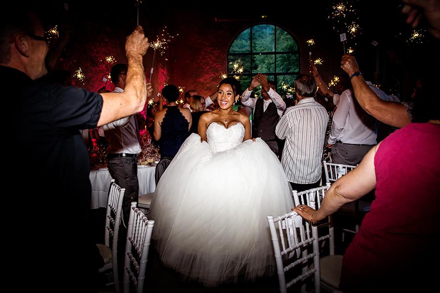 photo de soirée de mariage Chateau du Bourg