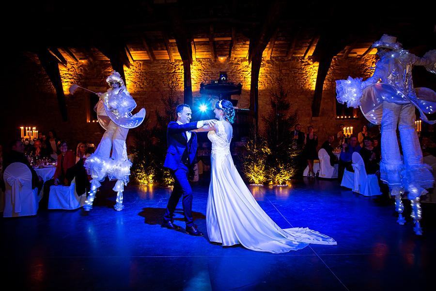 photo de soirée de mariage Manoir de la Garde