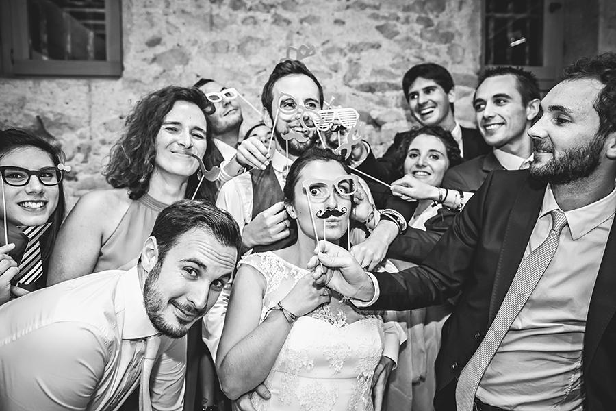 photo de soirée de mariage Château de la Gallée