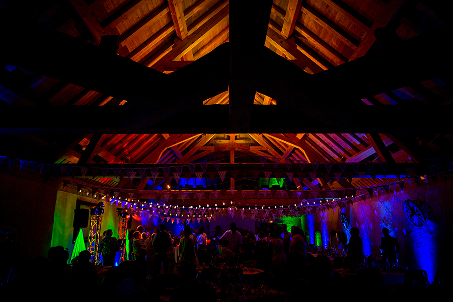 photo de soirée de mariage