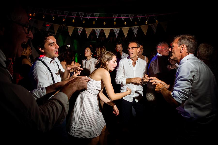 photo de soirée de mariage La Ferme de Gy