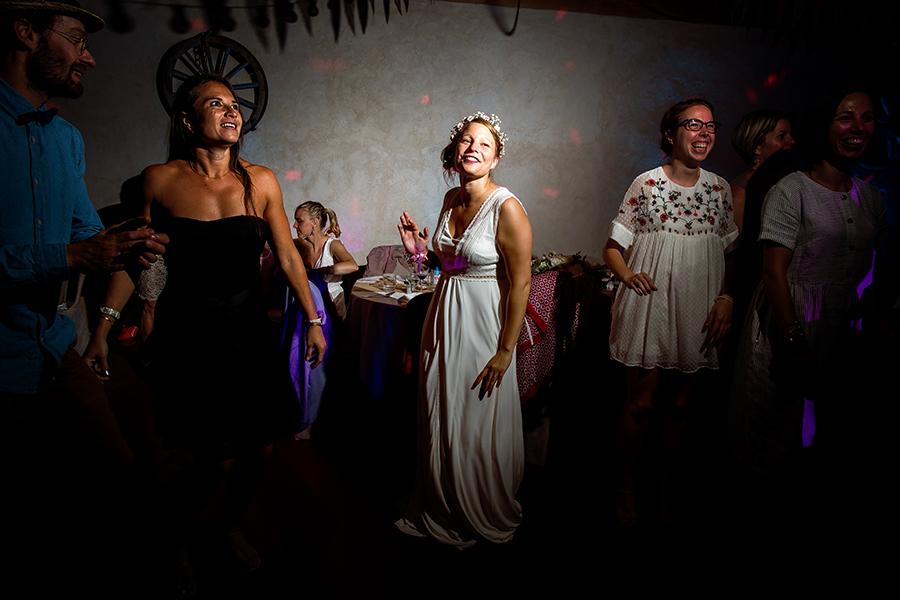 photo de soirée de mariage Lyon