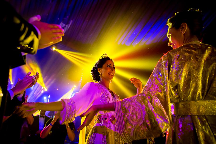 photo de soirée de mariage MARRAKECH