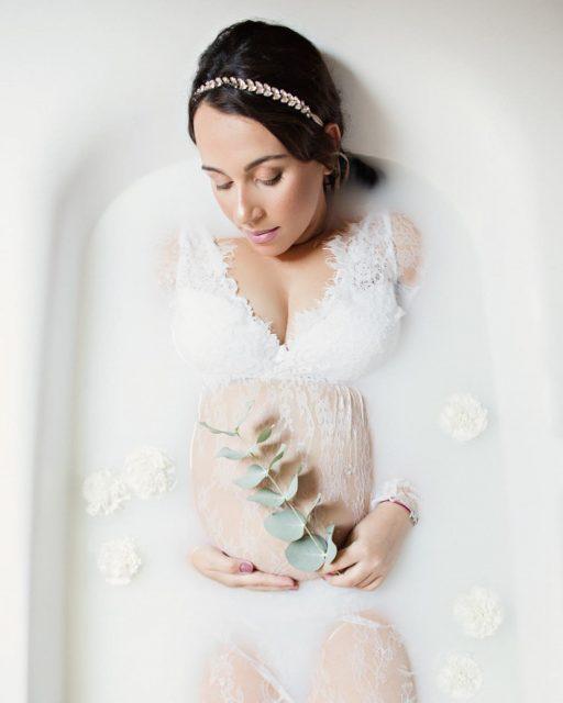 Photographe Grossesse Lyon , Photographe Lyon , Grossesse ,bain de lait